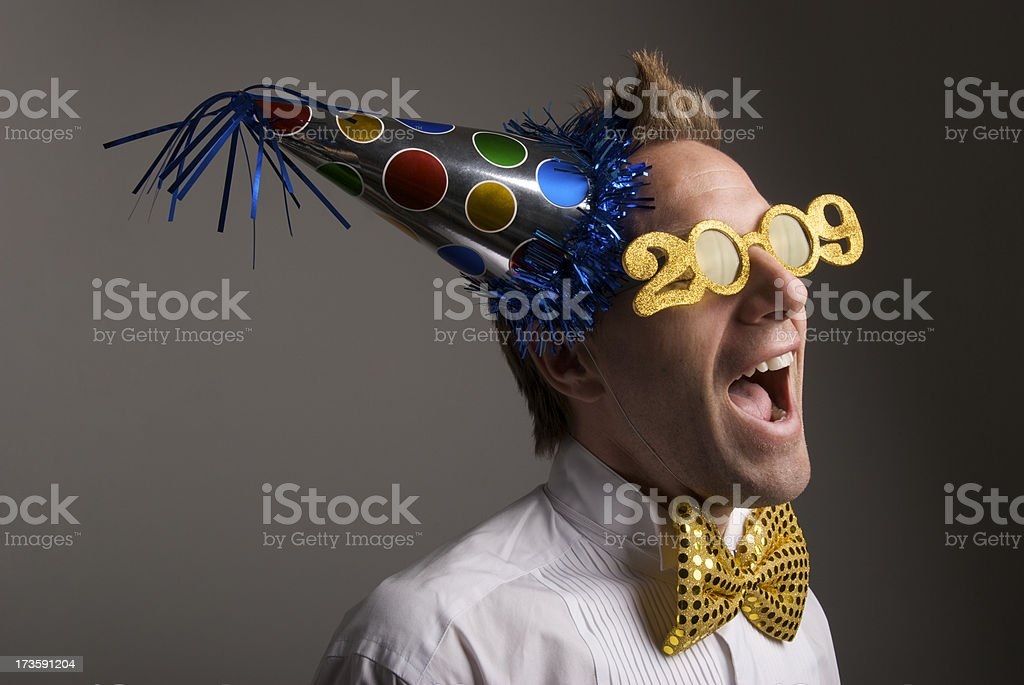 Auld Lang Syne 2009 stock photo