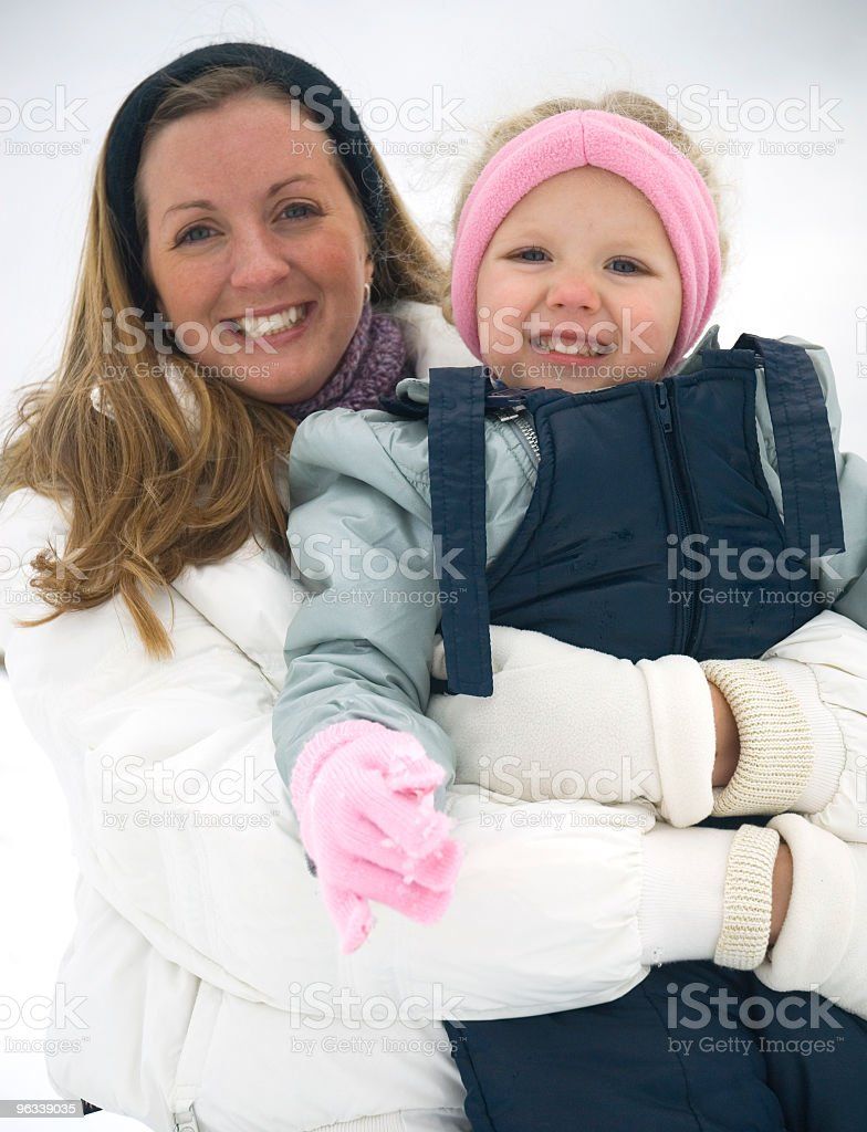 Auntie and Niece royalty-free stock photo