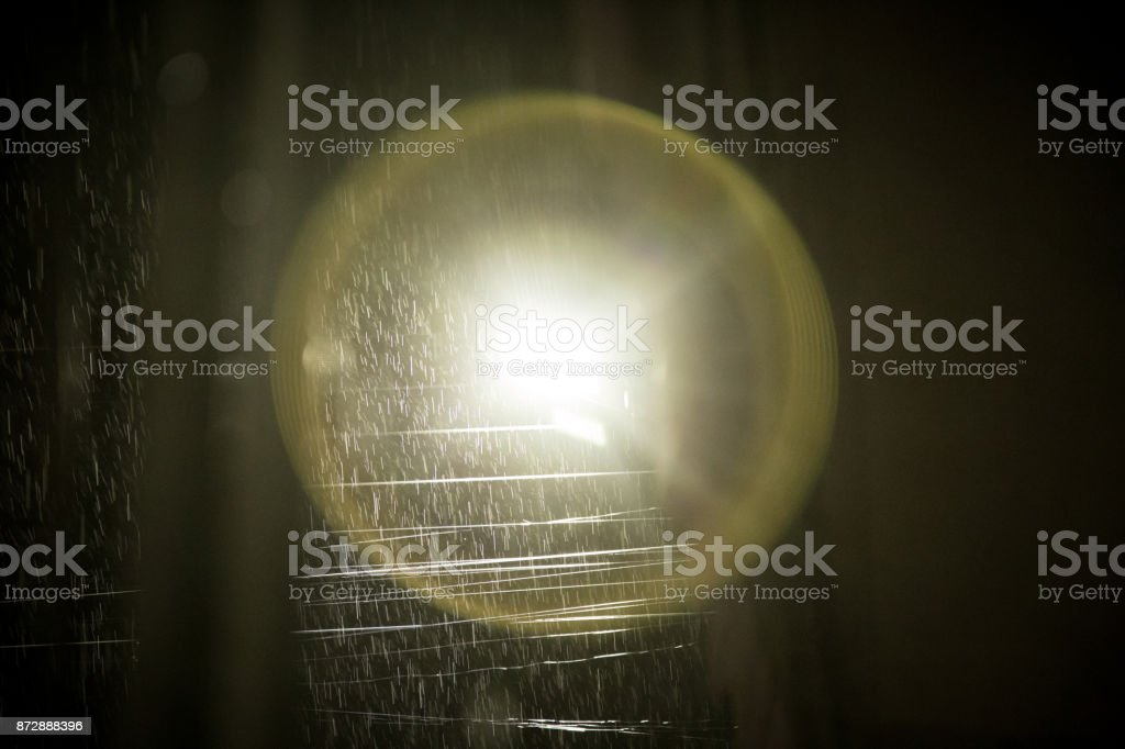 Aura rim light stock photo