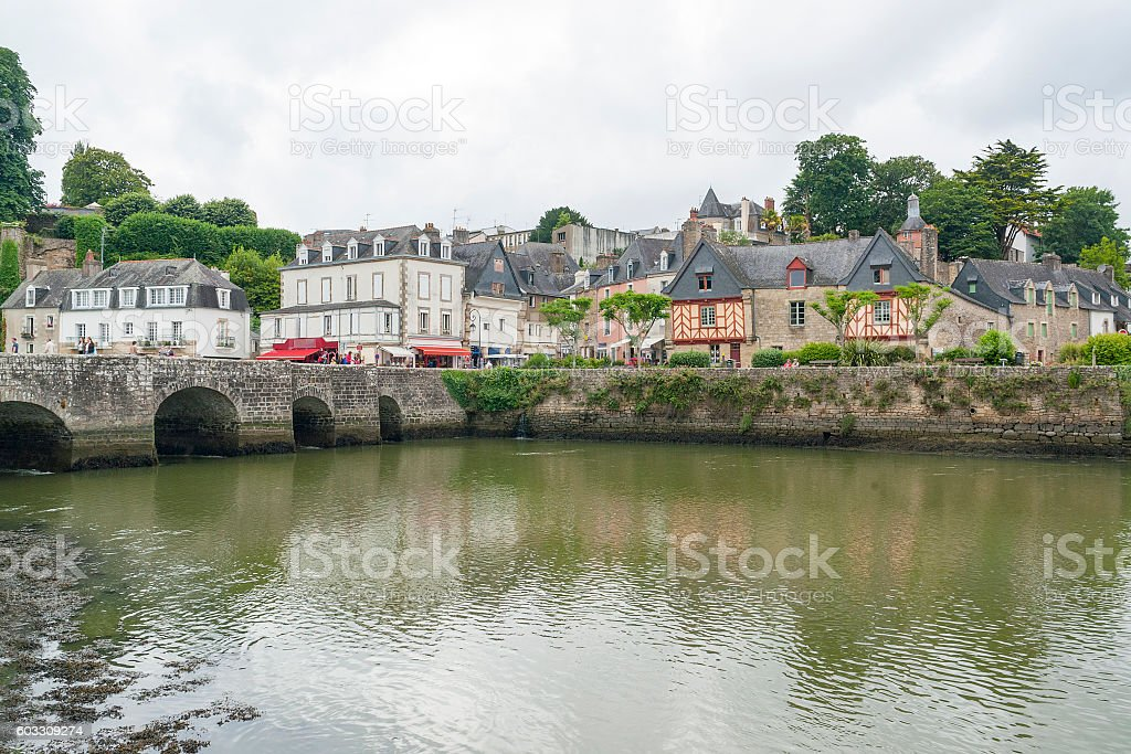 Auray in Brittany - foto de stock