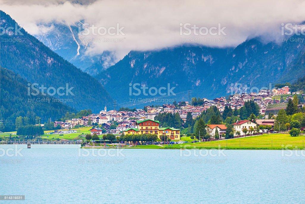 Auronzo di Cadore und den See – Foto