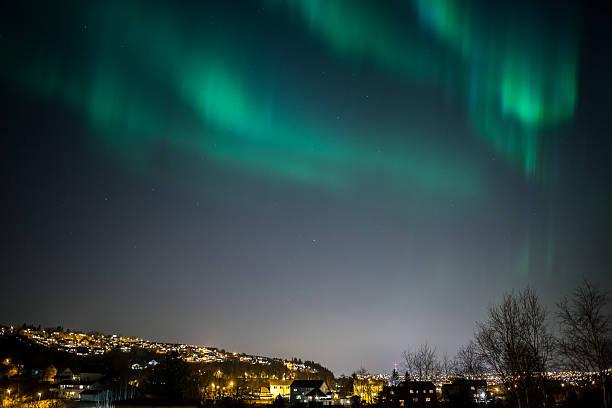 Aurora Borealis Stadt – Foto