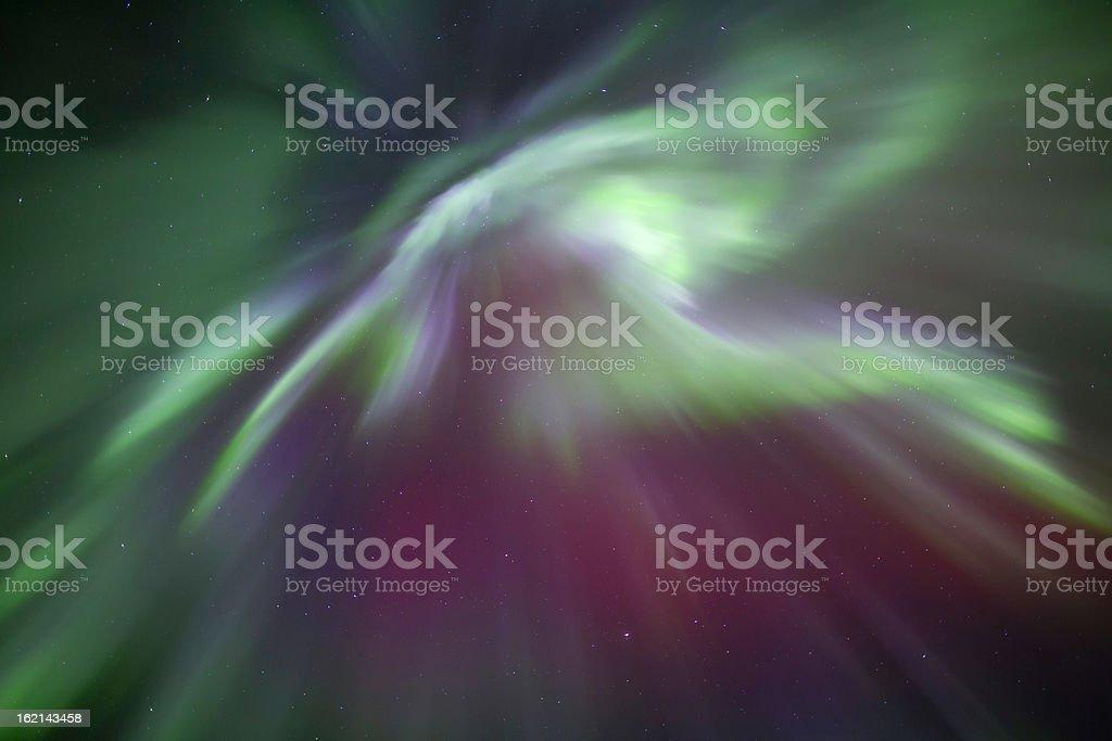 Aurora Borealis Corona royalty-free stock photo