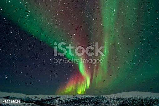 istock Aurora Borealis in Alaska 487516034