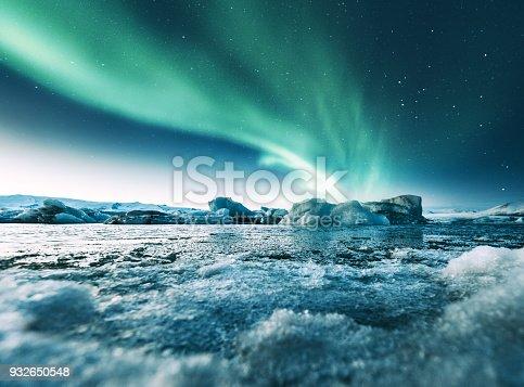 istock aurora borealis in iceland at jakulsarlon 932650548