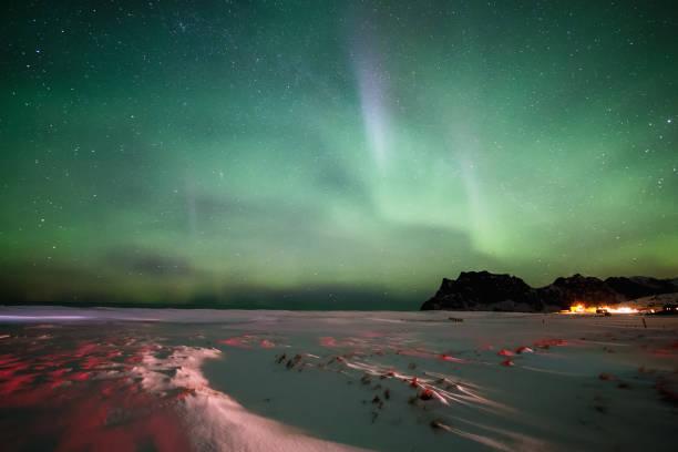Aurora Borealis in Norwegen – Foto