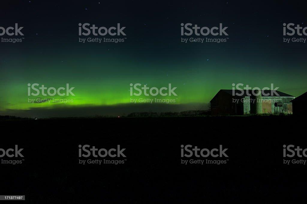 Aurora Borealis Northern Lights royalty-free stock photo