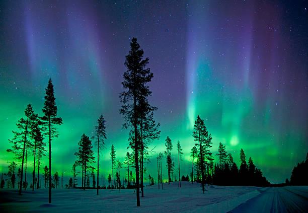 Aurora Borealis ストックフォト