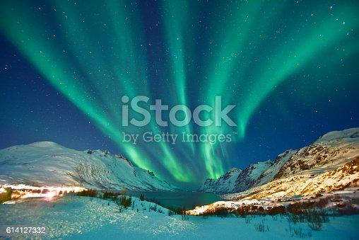 587773316 istock photo Aurora Borealis 614127332