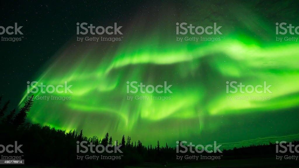 Aurora Cloud stock photo