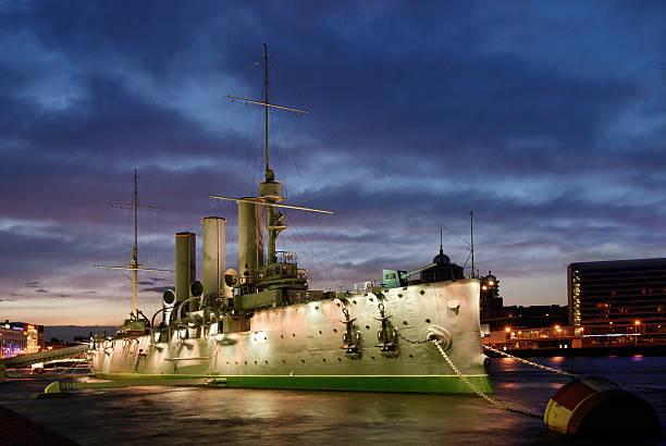 Aurora cruiser in Sankt-Petersburg – Foto