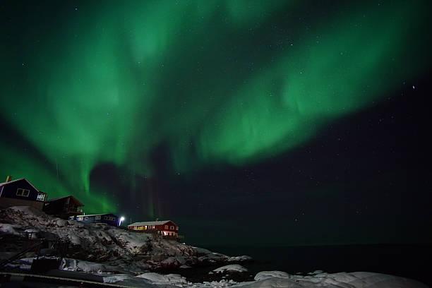 Aurora Ilulissat, Grönland – Foto