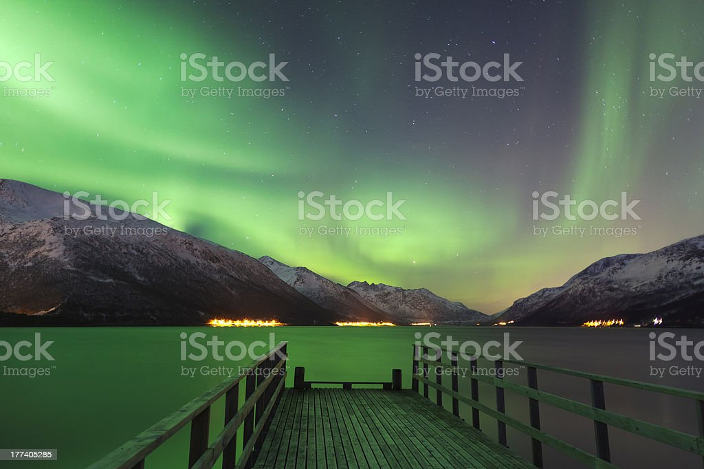 Aurora Jetty stock photo