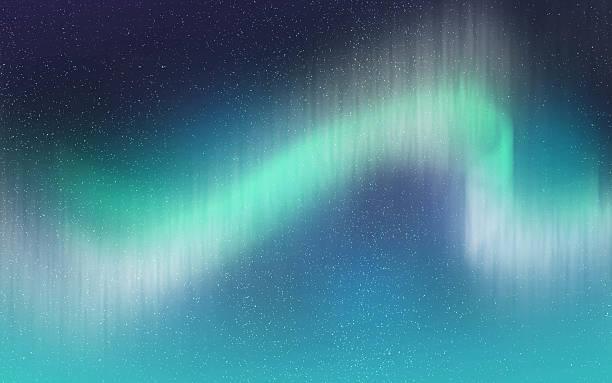 Aurora light illustration background wallpaper stock photo