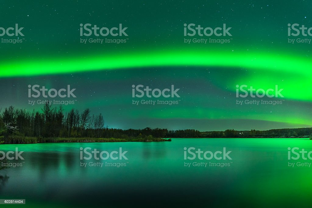 Aurora Mists Again stock photo