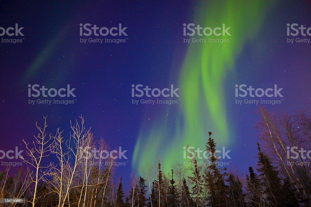 Aurora Tornado stock photo