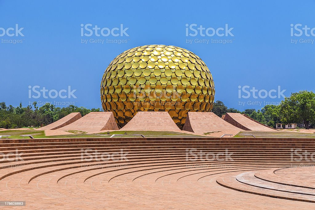 Auroville, India - Royalty-free Abstract Stock Photo