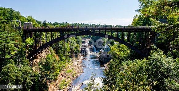 Ausable Chasm - Grand Canyon of the Adirondacks Bridge
