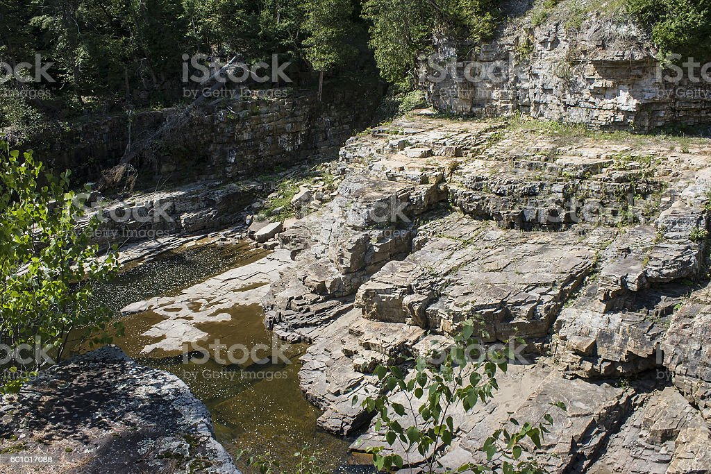 Ausable Chasm stock photo