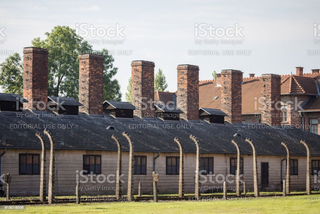 Auschwitz Concentration Camp Stock Photo & More Pictures of ...