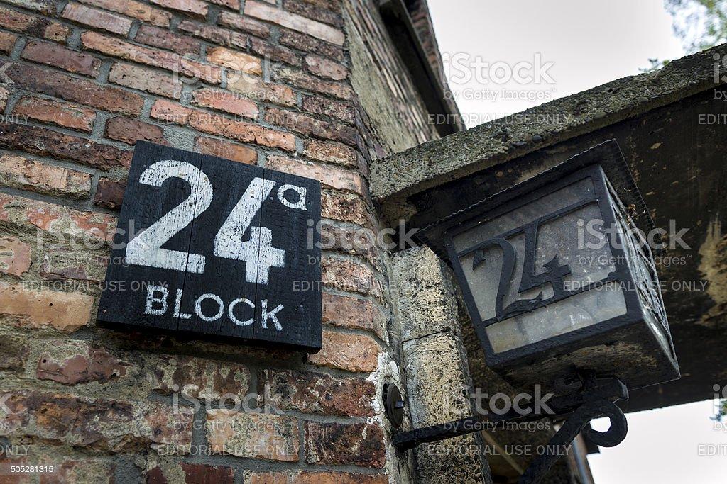 Auschwitz-Birkenau, deutsche Nazi Konzentrationslager in Polen. – Foto