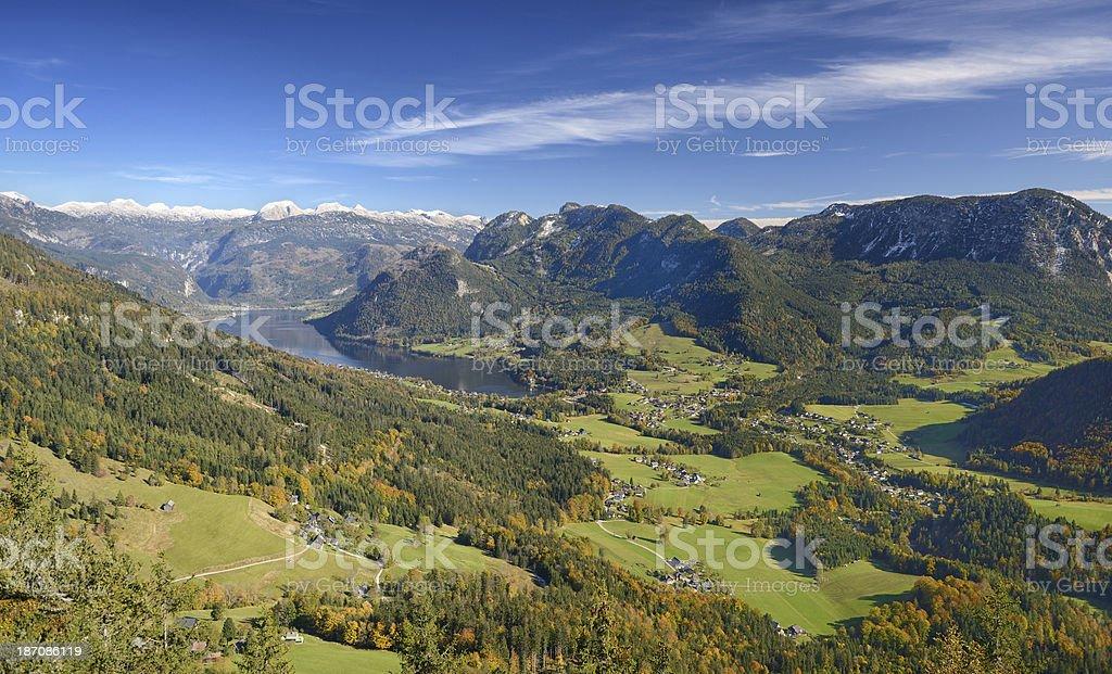 Ausseerland, Salzkammergut, Austria royalty-free stock photo