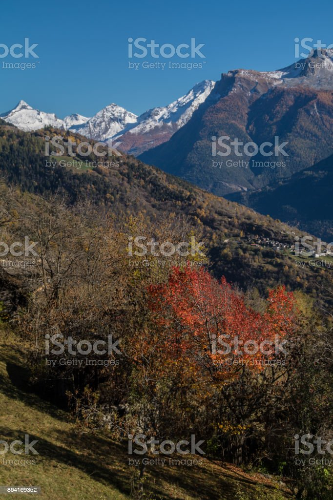 ausserberge,valais swiss royalty-free stock photo