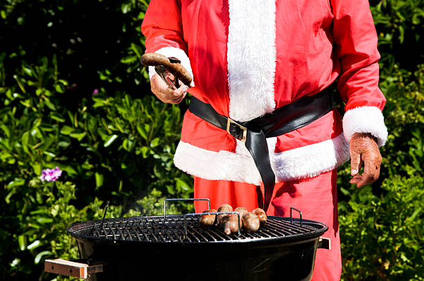 Aussie Christmas stock photo