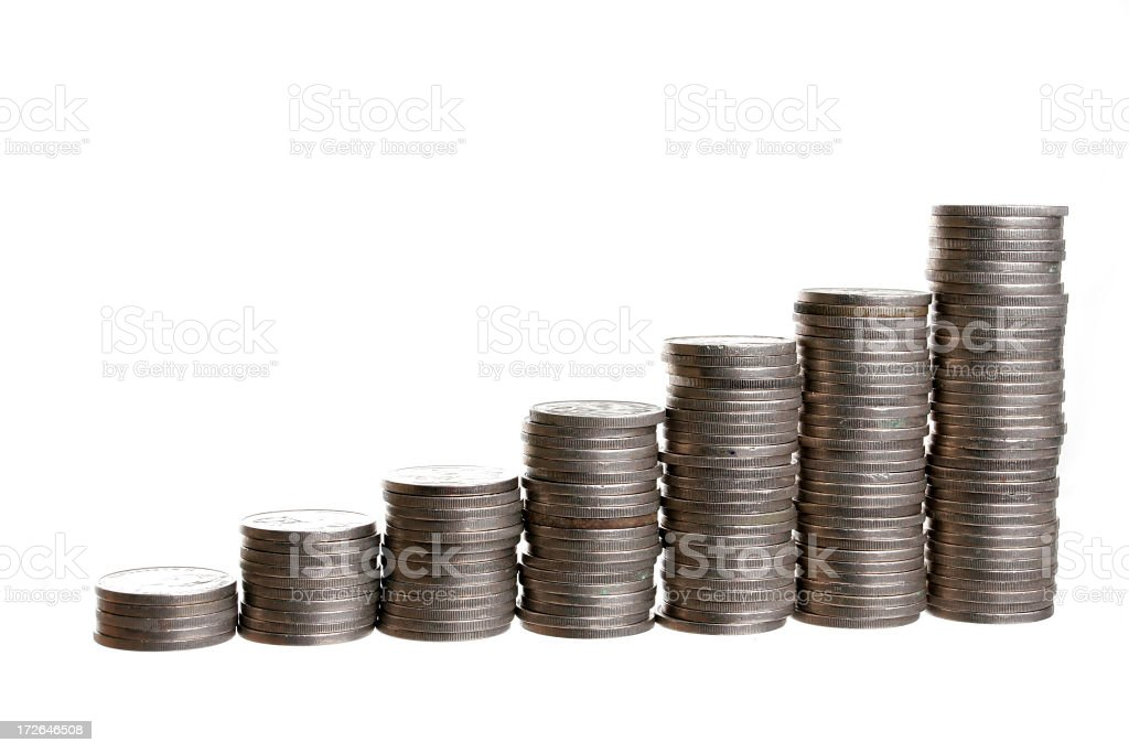 Aussie Coins 3 royalty-free stock photo