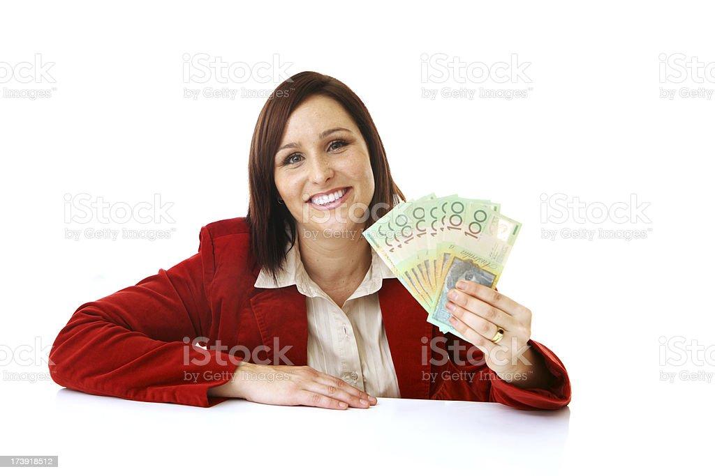 Aussie Money royalty-free stock photo
