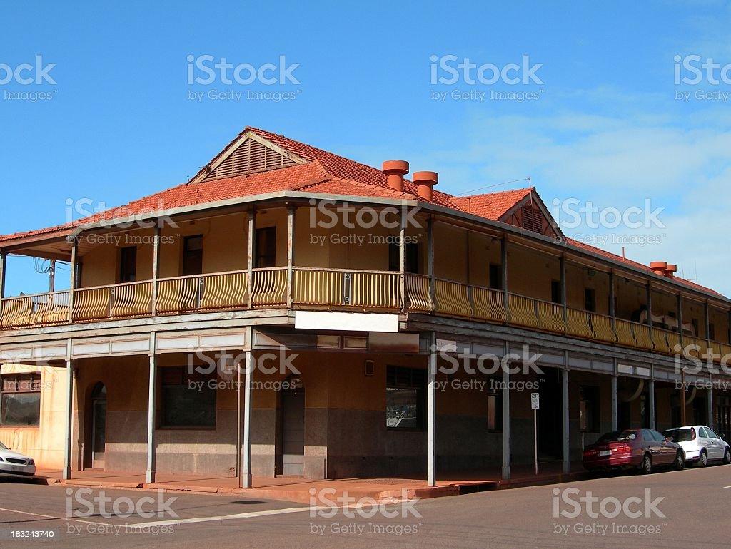 Aussie pub stock photo