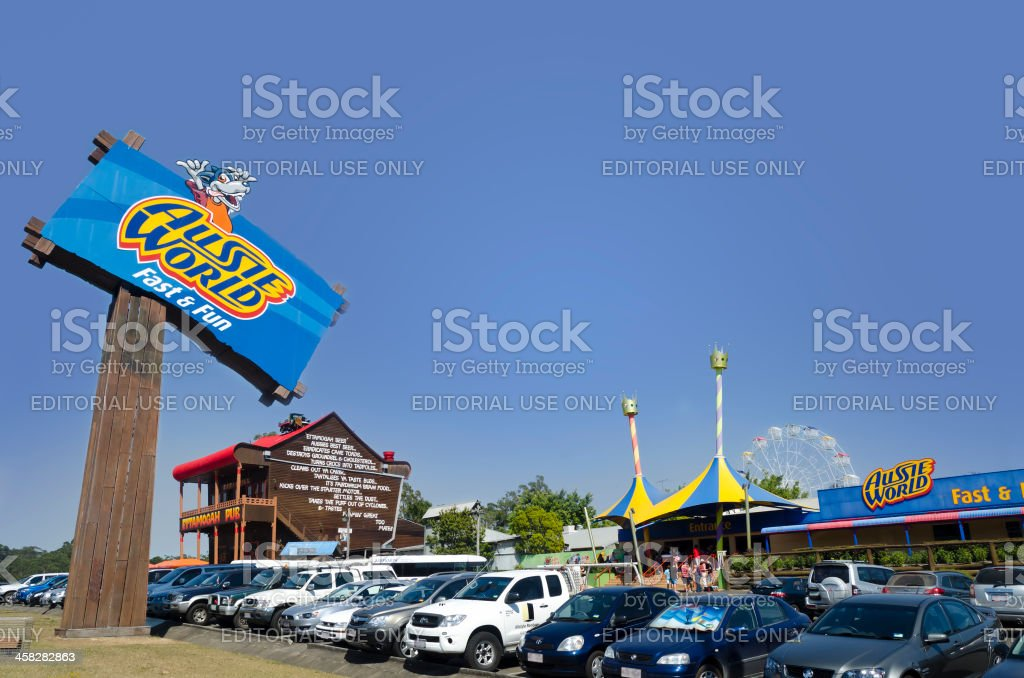 Aussie World and Ettamogah Pub Sunshine Coast stock photo