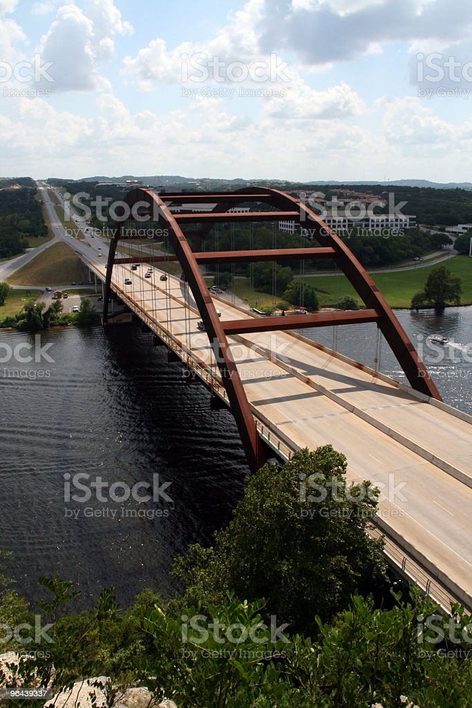 Austin 360 Bridge stock photo