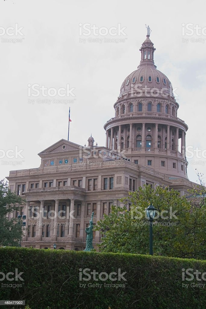 Austin Capitol stock photo
