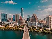 istock Austin Congress Street Bridge and Texas Capitol Building 1289215387