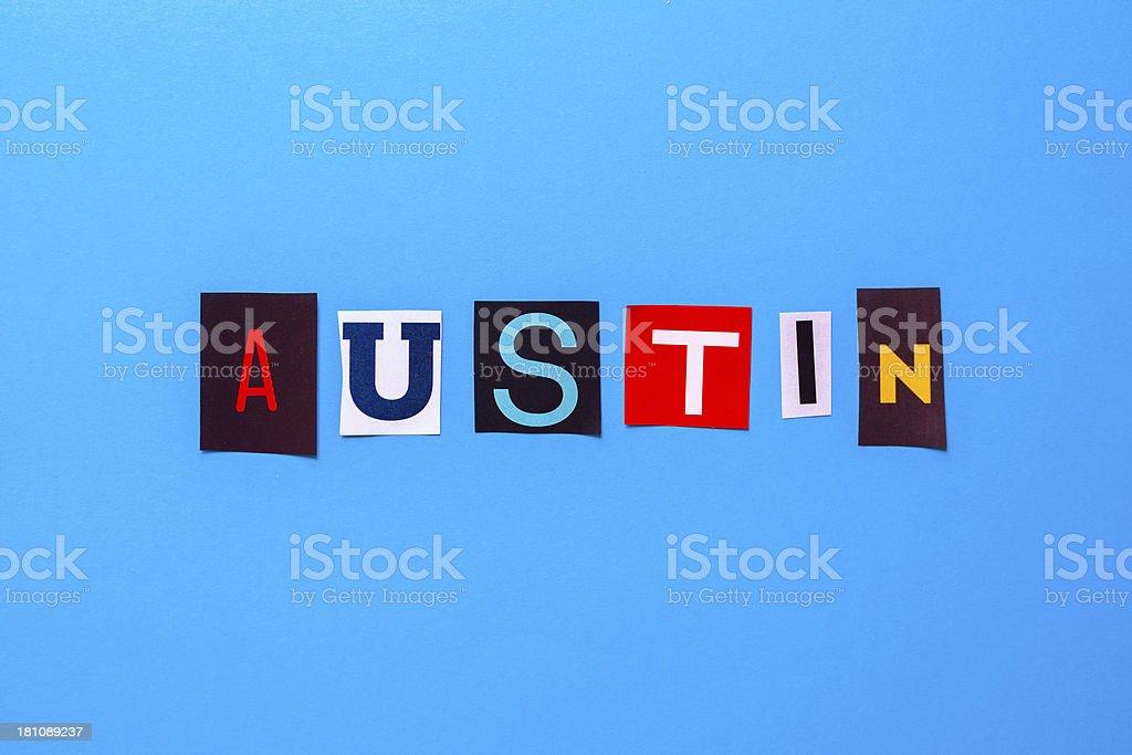 Austin stock photo