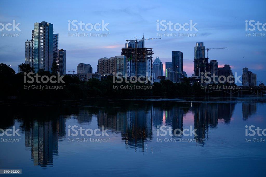 Austin skyline stock photo