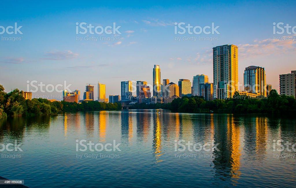 Austin Texas 2015 Capital City beauty stock photo
