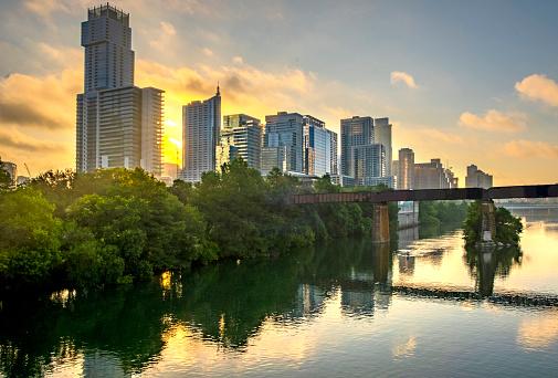 Austin Texas at dawn