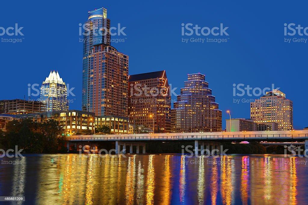 Austin Texas City Skyline stock photo