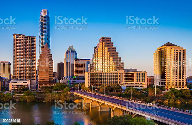 Austin texas cityscape skyline panorama congress avenue bridge late picture id502584545?b=1&k=6&m=502584545&s=612x612&h=3hrdpk8mwvg1khtf7de0ppqco tqftei5wdnrmmznsy=