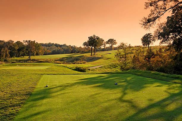 Austin Texas Golf Landscape stock photo