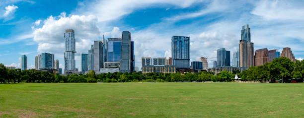 Austin Texas Skyline Panorama – Foto