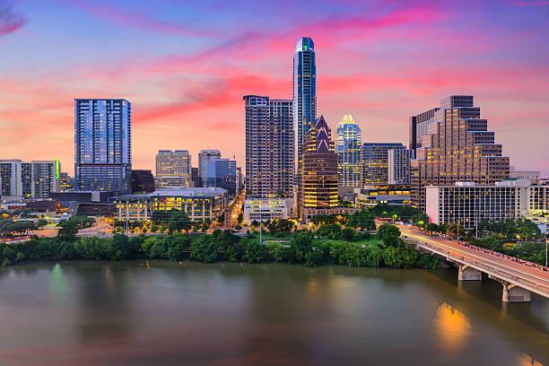 Austin, Texas Skyline stock photo