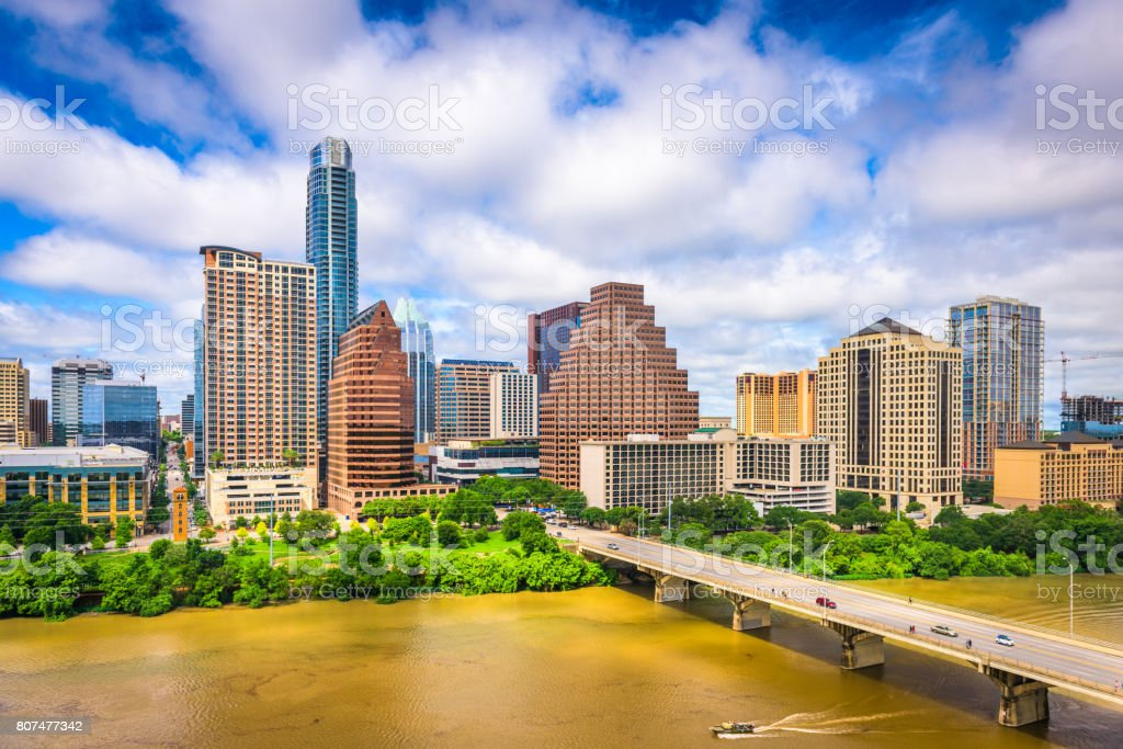 Austin, Texas Skyline stock photo