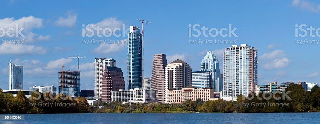 Austin, Texas Skyline - Royalty-free Austin - Texas Stock Photo