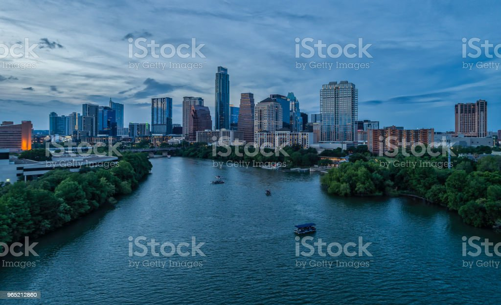 Austin, Texas Skyline royalty-free stock photo