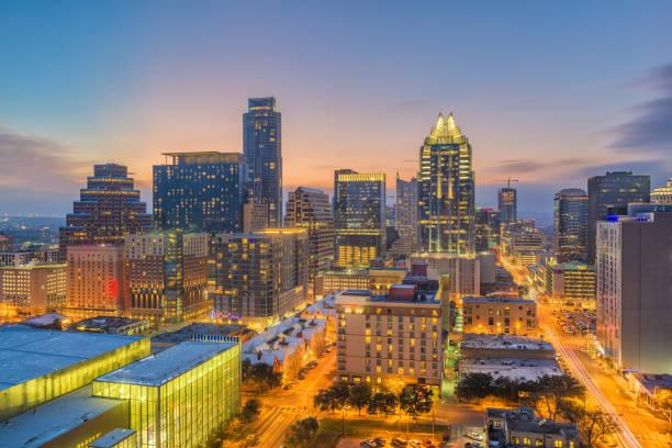 Austin, Texas, USA Cityscape stock photo