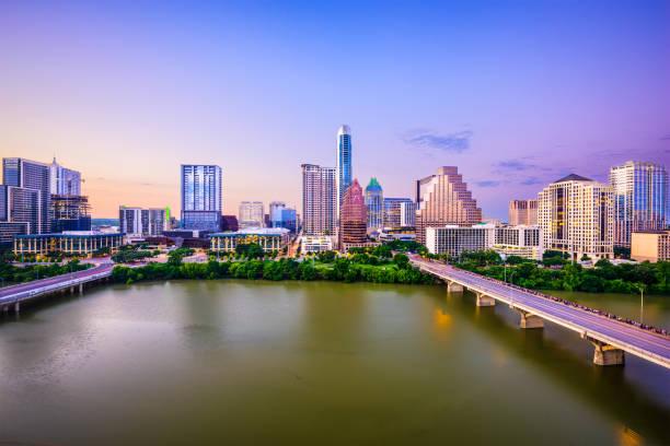 Austin, Texas, USA stock photo