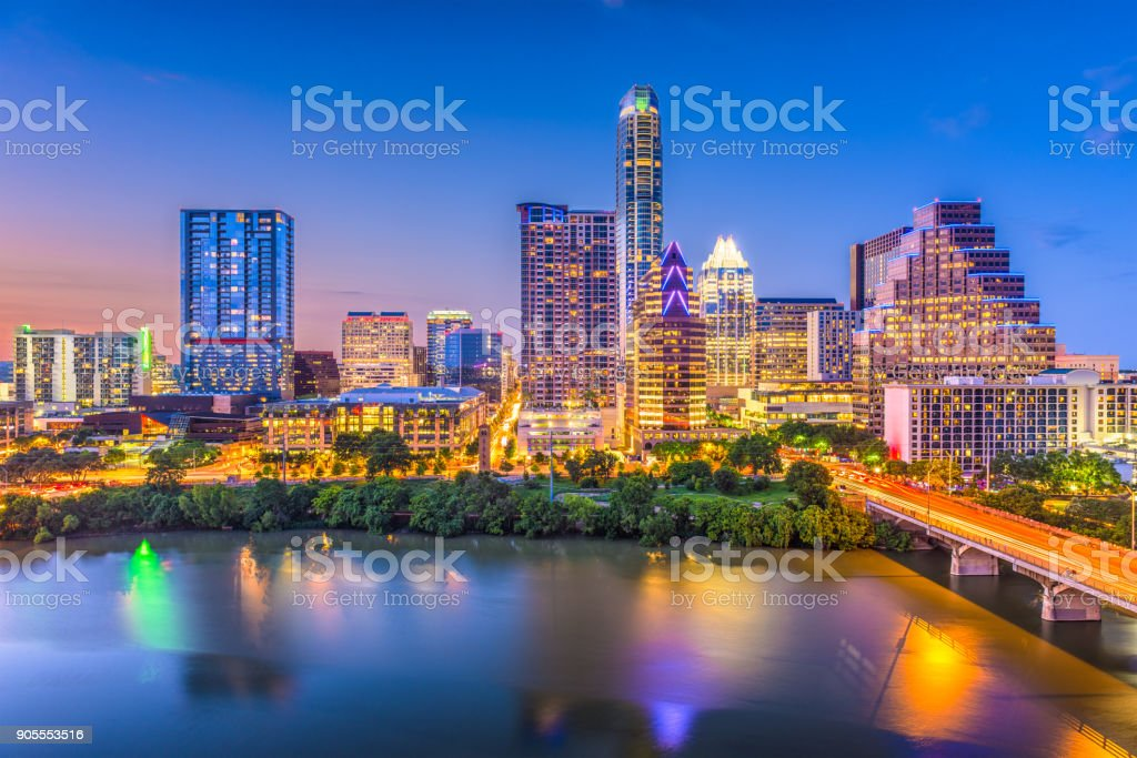 Austin, Texas, USA stock photo
